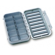 C&F large 8 row waterproof flycase with 12 compartments