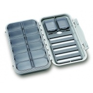 C&F large 5 wor nymph waterproof flybox with 12 compartments