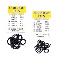 Beadchain Eyes Black