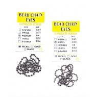 Beadchain Eyes Silver