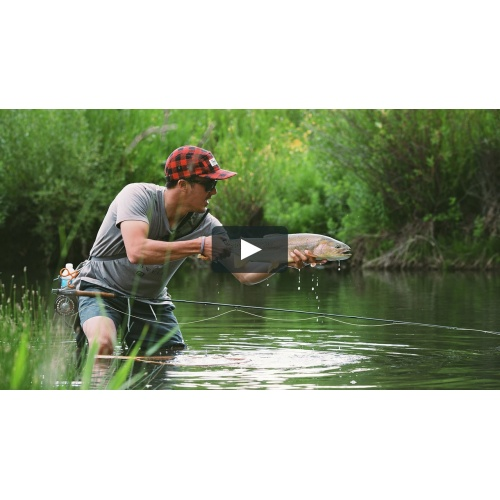 More Than Fishing, Prachtige vliegvis video!