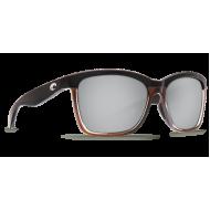 Costa anaa shiny black on brown copper silver mirror 580p