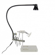 Marc Petitjean daylight lamp with tool rack
