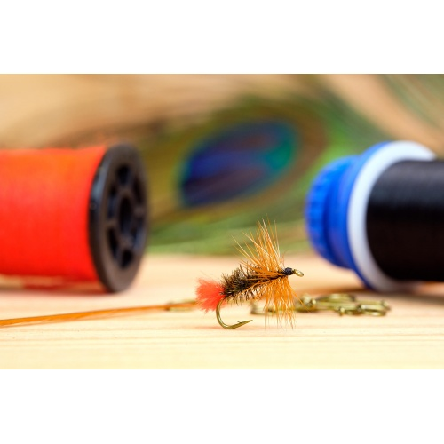 Fly Tying for Beginners, Red Tag Dry Fly Video