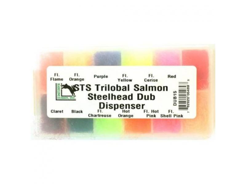 Hareline STS Trilobal Salmon Trout and Steelhead Dub